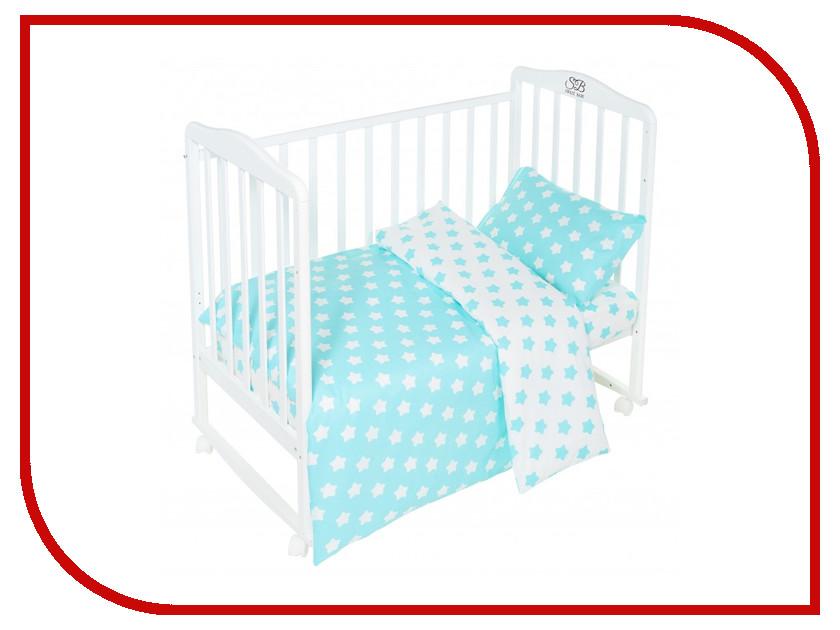 Постельное белье Sweet Baby Stelle Turchese Комплект Детский Turquoise 411955 высокий стул для кормления inglesina gusto turchese blue
