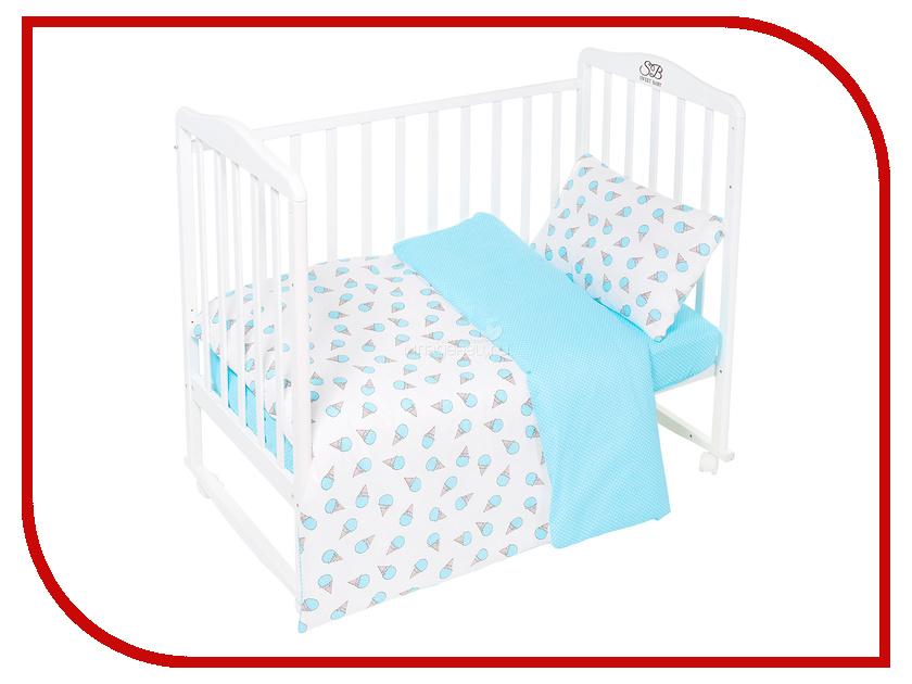 Постельное белье Sweet Baby Gelato Turchese Комплект Детский Turquoise 411958 высокий стул для кормления inglesina gusto turchese blue
