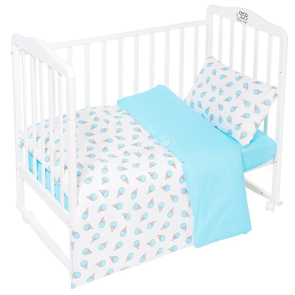 Постельное белье Sweet Baby Gelato Turchese Комплект Детский Turquoise 411958 недорго, оригинальная цена