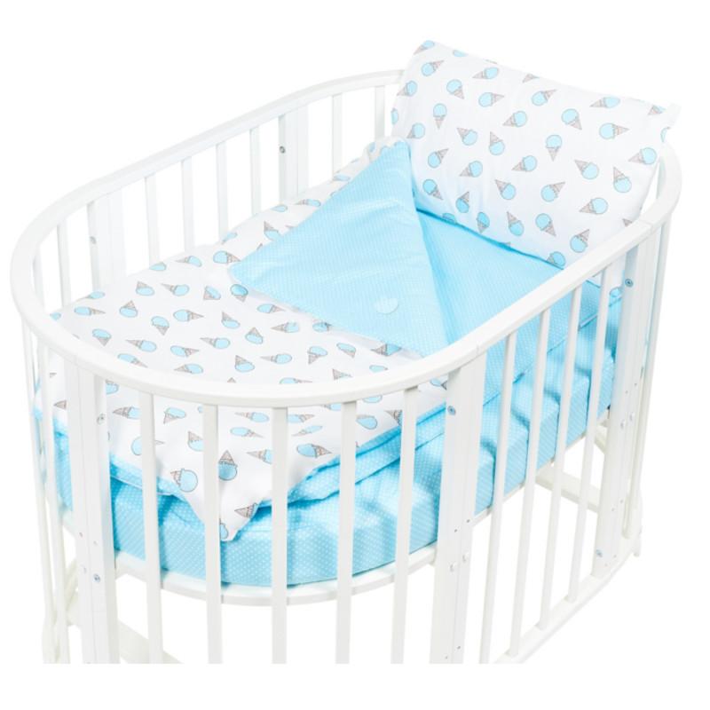 купить Постельное белье Sweet Baby Yummy Turchese Комплект Детский Turquoise 411963 по цене 782 рублей