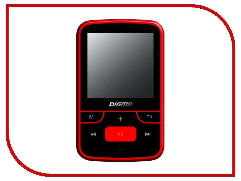 Плеер Digma T3 8Gb Black-Red