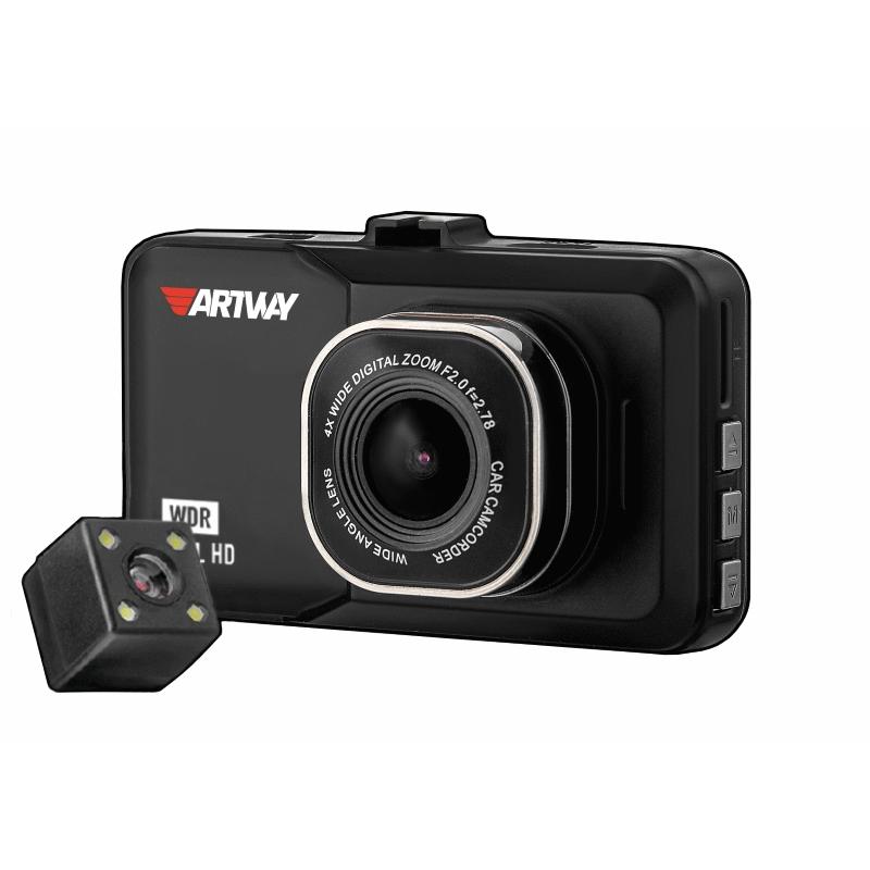 Видеорегистратор Artway AV-394, 2 камеры недорого