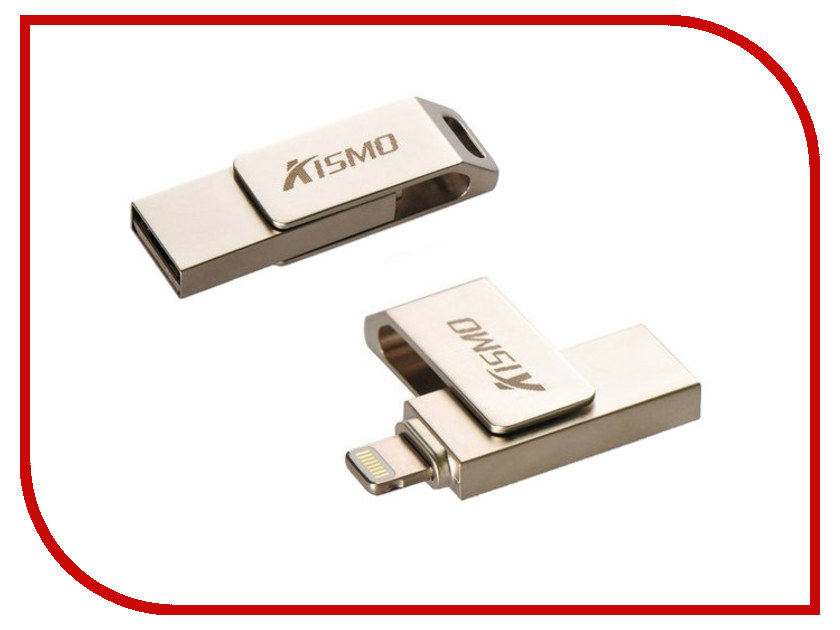 USB Flash Drive Kismo/iDrive iPhone/iPad 64Gb 290385 цена