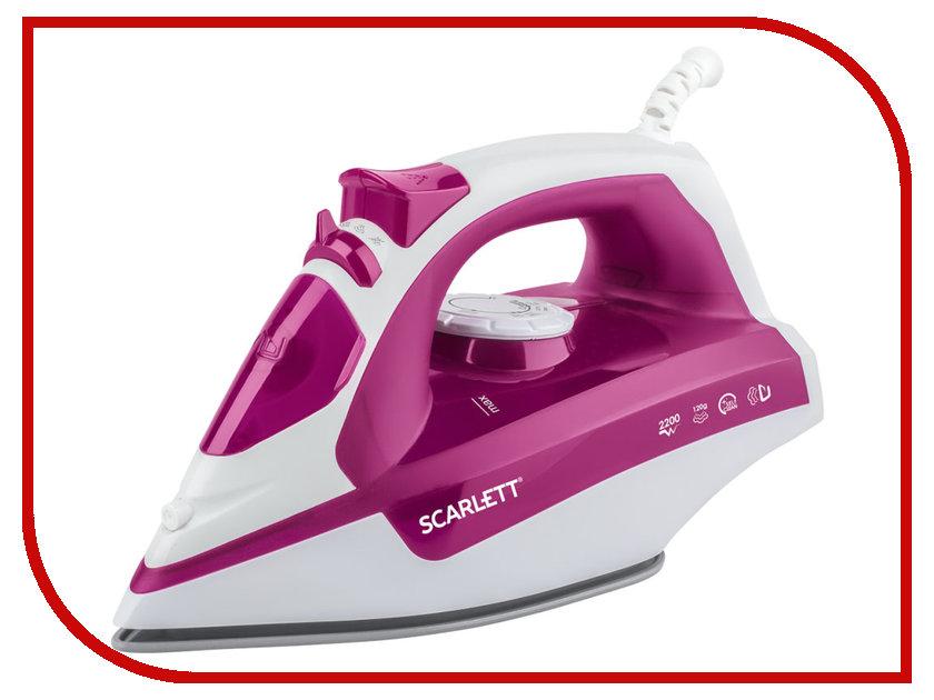 Утюг Scarlett SC-SI30K25 Pink соковыжималки электрические scarlett соковыжималка цитрусовая scarlett sc je50c03 90вт