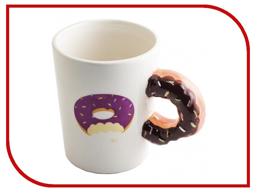 Кружка Эврика Пончик к чаю 98272