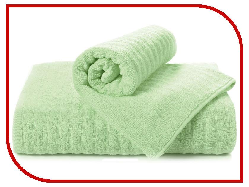 Полотенце Aquarelle Волна 70x140cm Light Green 711505 полотенце aquarelle техника 70x140cm green 722709