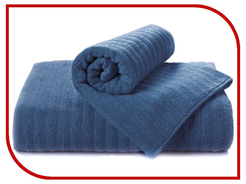 Полотенце Aquarelle Волна 70x140cm Dark Blue 716198 полотенце aquarelle стамбул 70x140cm white blue 710397