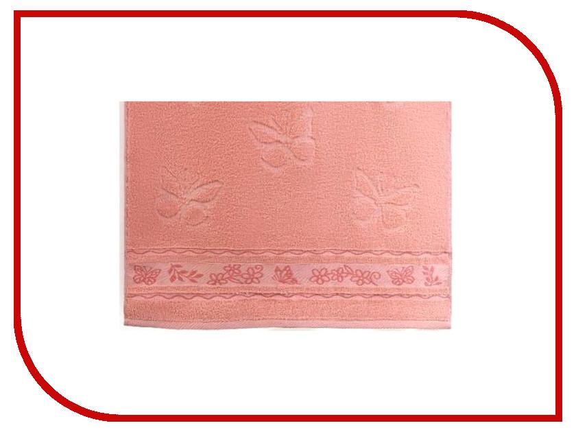 Полотенце Aquarelle Бабочки 70x140cm Pink-Coral 708905 полотенце aquarelle техника 70x140cm green 722709