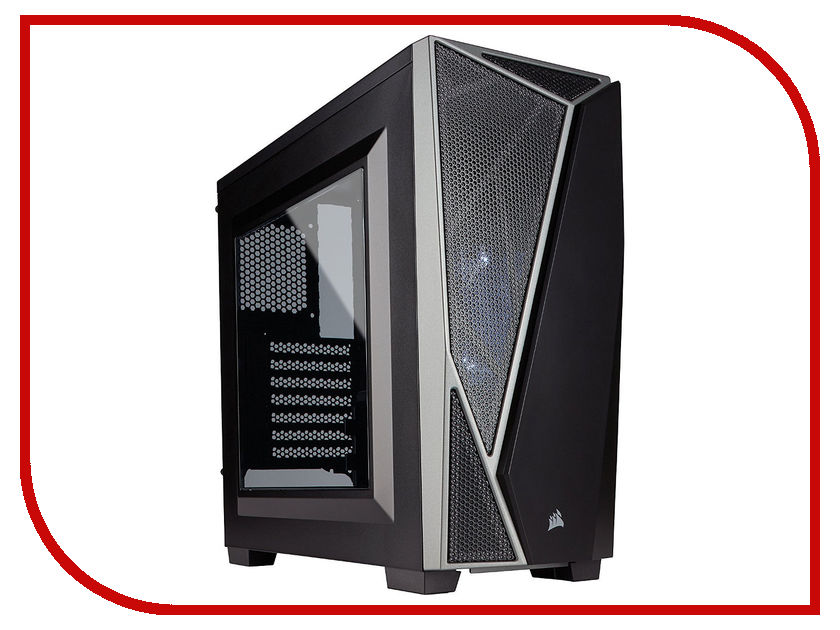 Корпус Corsair Carbide Series SPEC-04 Black-Grey CC-9011109-WW корпус corsair obsidian series 350d черный