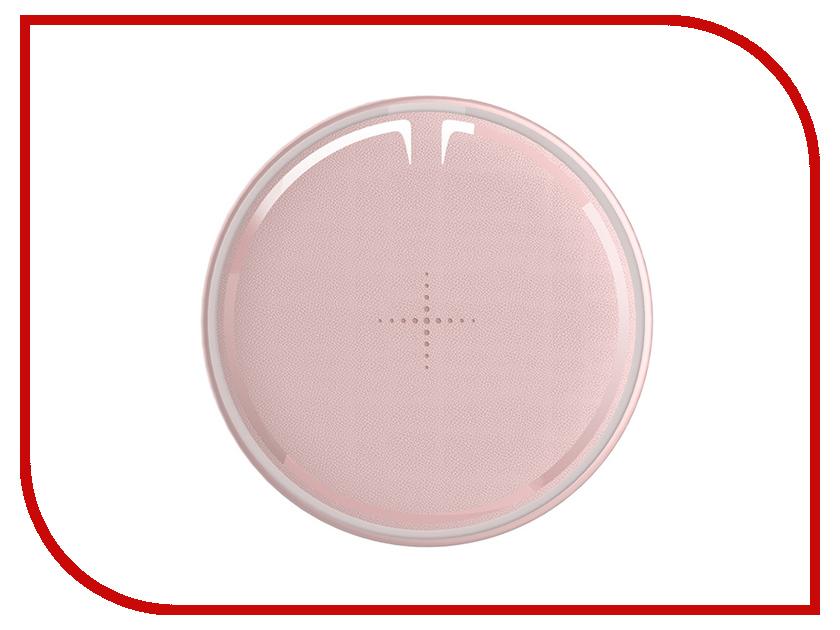 Зарядное устройство Rock W12 Quick Wireless Pink C3C зарядное устройство rock w4 quick wireless red dt 518q