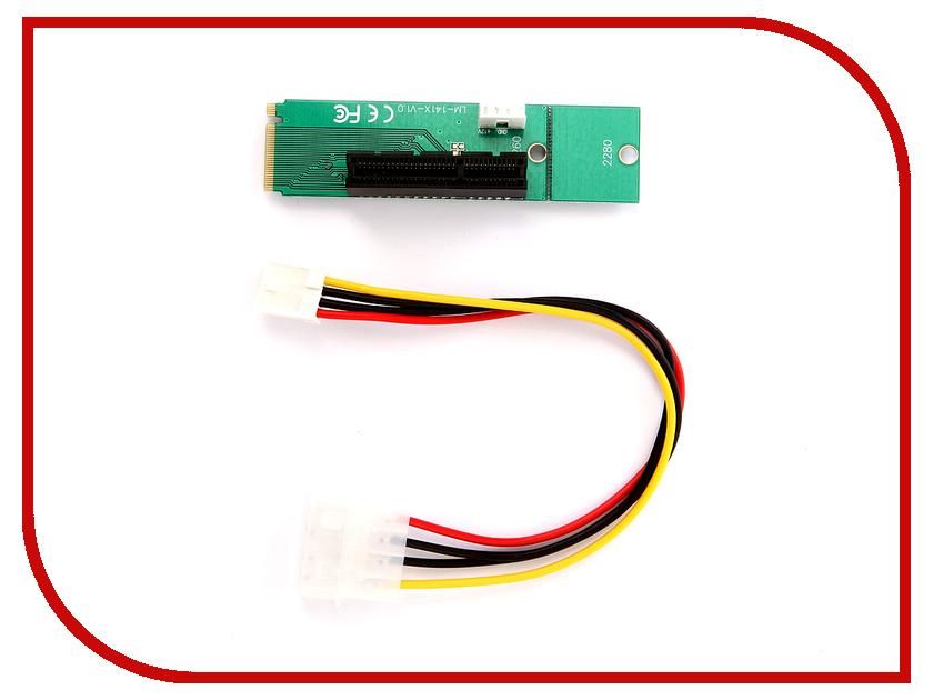 цена на Аксессуар Переходник Open-Dev M2-PCI-E-Riser - для майнинга