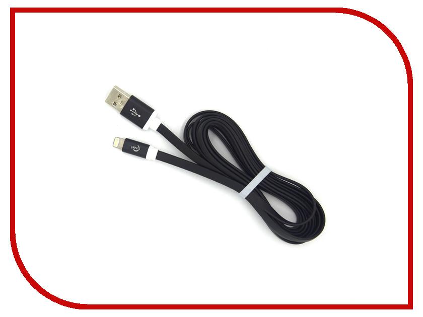 Аксессуар Pero USB - Lightning 1.2A 1m PRDC-8P1MB Black compatible p vip 230w 0 8 e20 8 projector lamp np19lp bulb for u250x u260w