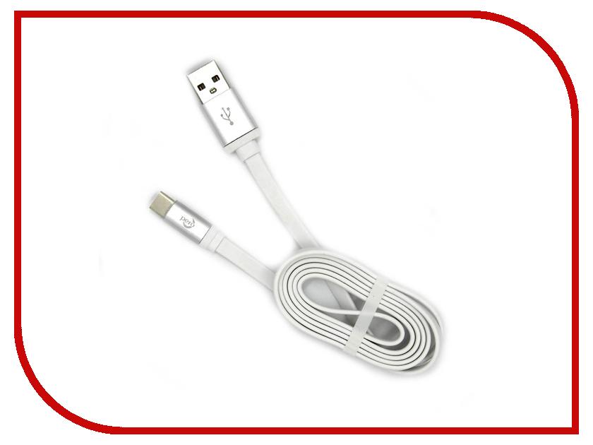 Аксессуар Pero USB - Type-C 2A 1m PRDC-TC1MW White