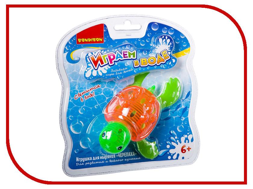 Игрушка Bondibon Играем в воде Черепаха YG48S / BB2438
