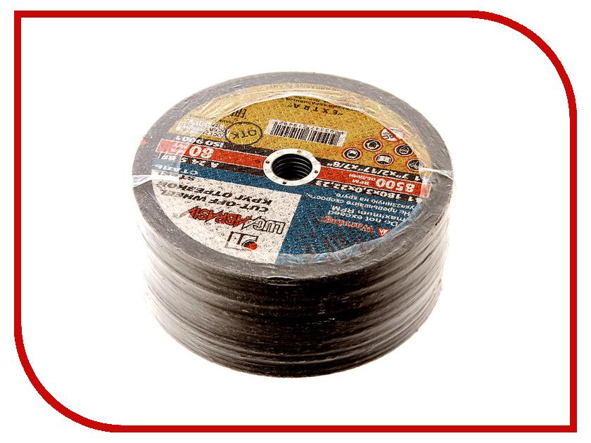Диск Luga Abrasiv 2031 A24 отрезной по металлу 180x3x22mm 25шт круг отрезной luga по металлу 115х1 2х22