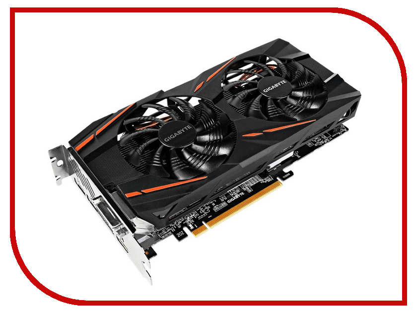 Видеокарта GigaByte Radeon RX 570 Gaming 8G Mining 1244Mhz PCI-E 3.0 8192Mb 7000Mhz 256 bit DVI HDMI DP HDCP GV-RX570GAMING-8GD-MI видеокарта gigabyte 8192mb rx 580 gv rx580gaming 8gd 3xdp hdmi dvi ret