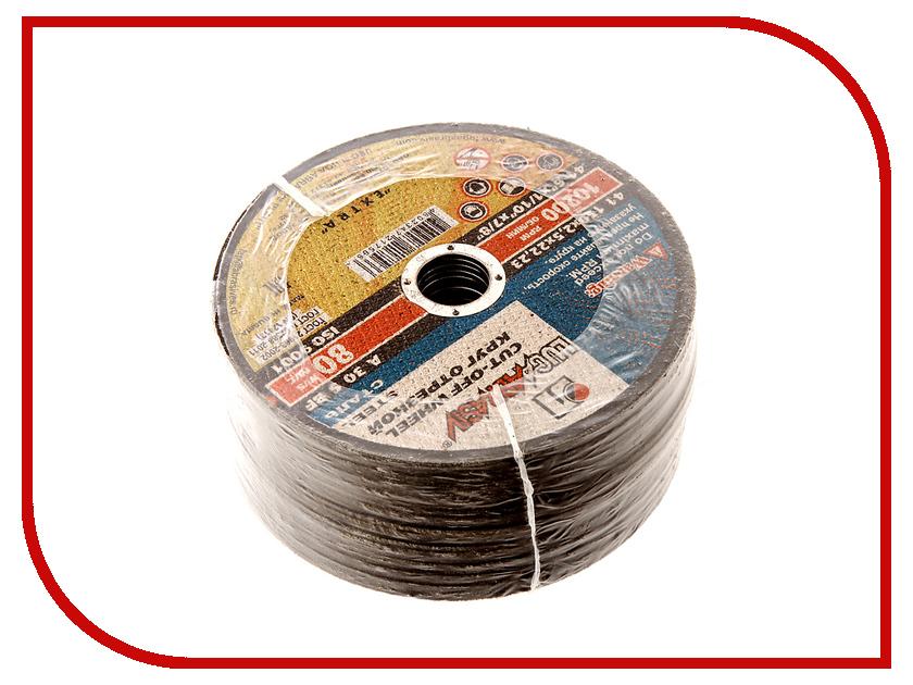 Диск Luga Abrasiv 2779 A30 отрезной по металлу 150x2.5x22mm 25шт круг отрезной luga по металлу 115х1 2х22