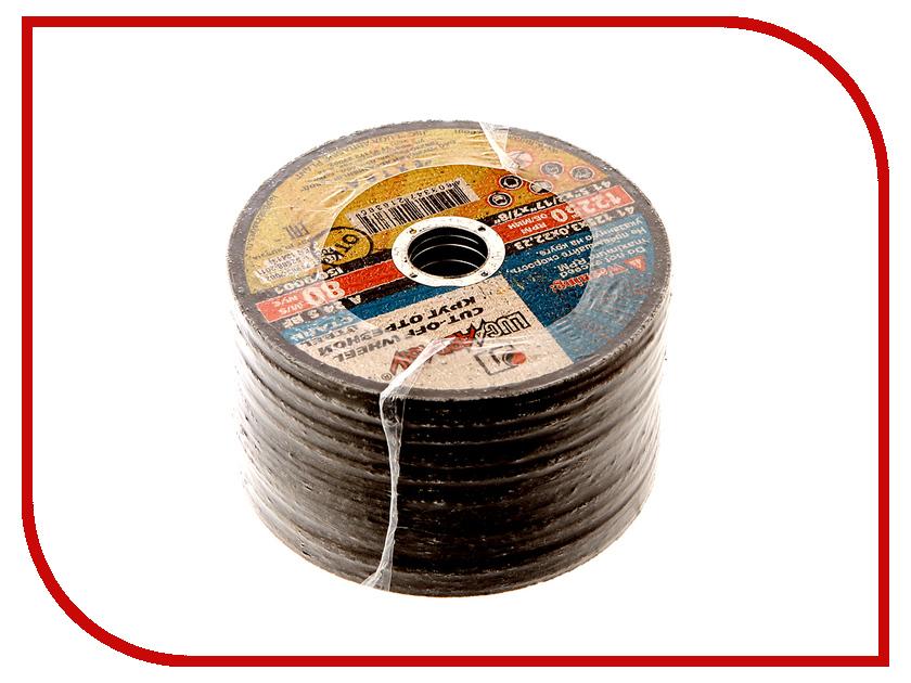 Диск Luga Abrasiv 2025 A24 отрезной по металлу 125x3x22mm 25шт круг отрезной luga по металлу 115х1 2х22