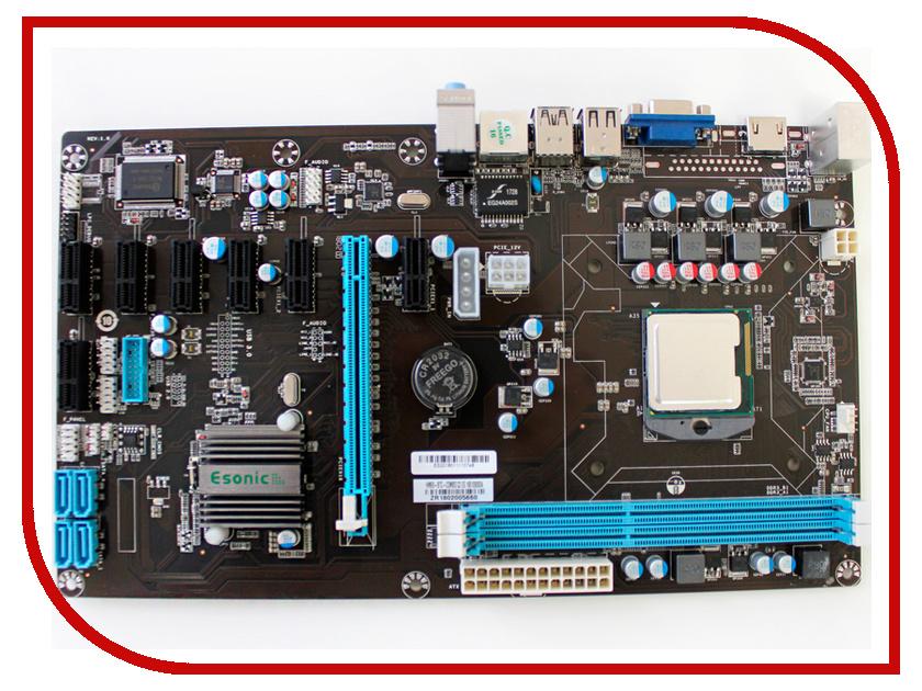 Материнская плата Esonic HM65-BTC-COMBO C2 для майнинга btc 6411