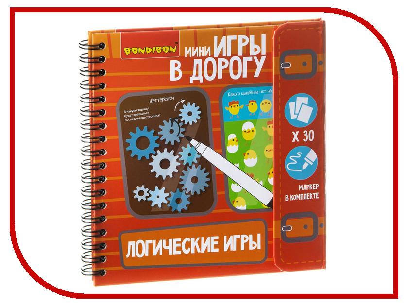 Настольная игра Bondibon Логические игры ВВ1956 настольная игра логические правильные игры загадка леонардо quintis fontis 10 01 02