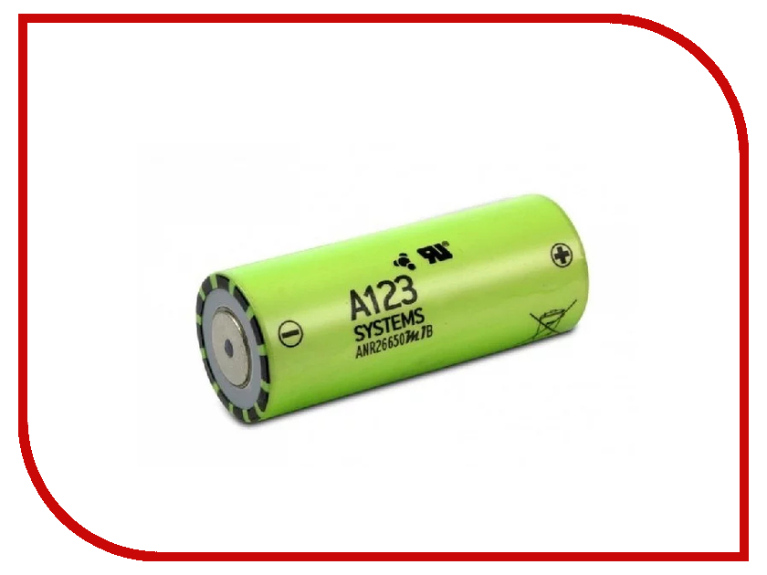 Аккумулятор 26650 - Robiton A123 System ANR26650M1B 2500mAh PK1 LiFe2500-26650 18000 lumen 15x xm l t6 led flashlight torch 15 t6 lantern 26650 flash light outdoor for hunting 4 26650 battery charger