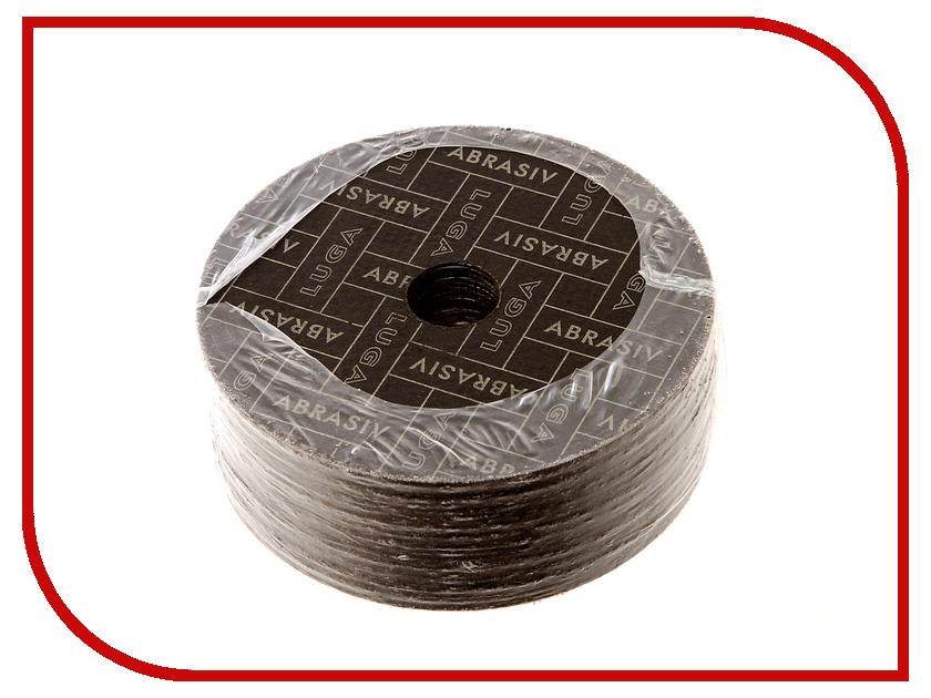Диск Luga Abrasiv 3387 A40 отрезной по металлу и нержавеющей стали 125x1.6x22mm 25шт круг отрезной luga по металлу 115х1 2х22