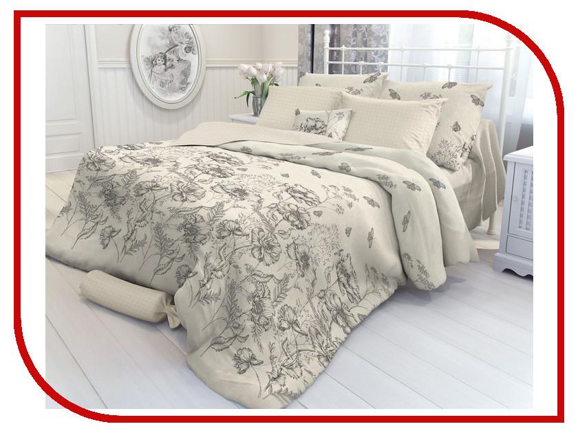Постельное белье Verossa Gravure Комплект Семейный Перкаль 707034 постельное белье ласточкино гнездо перкаль семейный