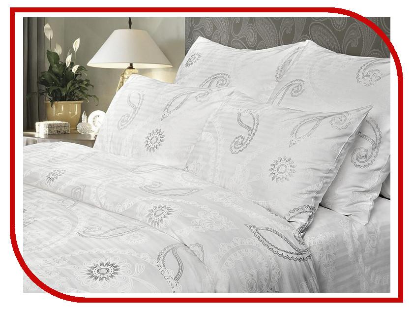 где купить Постельное белье Verossa Серебряный вальс Комплект 2 спальный Страйп 178938 по лучшей цене