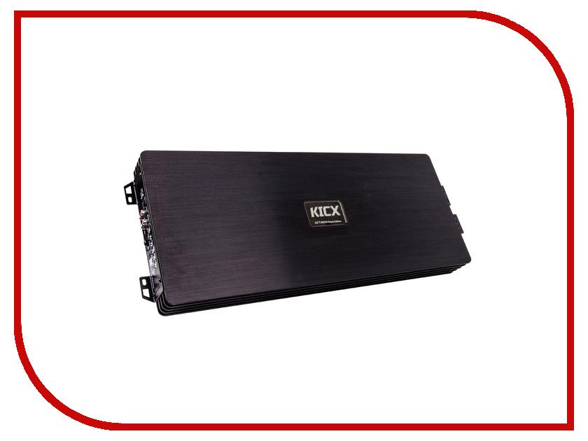 Усилитель Kicx QS 1.3000M Black Edition набор аудиокабелей kicx sak10atc