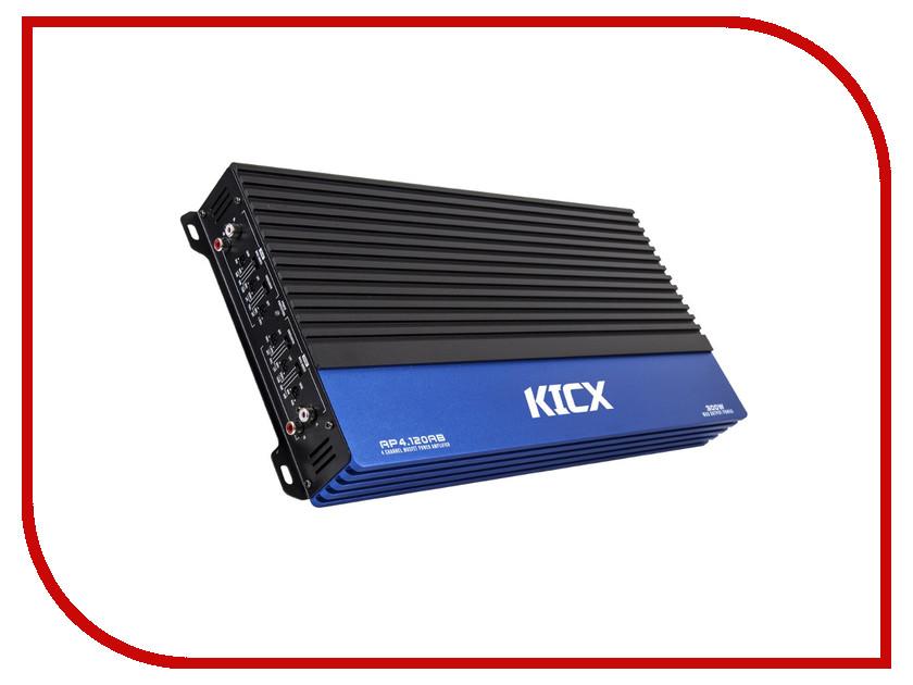 Усилитель Kicx AP 4.120AB kicx icq 301bxa