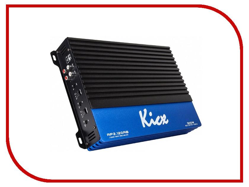 Усилитель Kicx AP 2.120AB kicx icq 301bxa