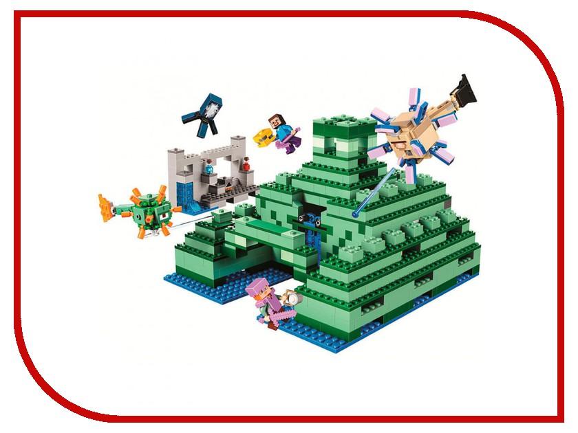 Конструктор Bela My World Подводная крепость 1134 дет. 10734 конструктор lele my world на рыбалке 375 дет 33095