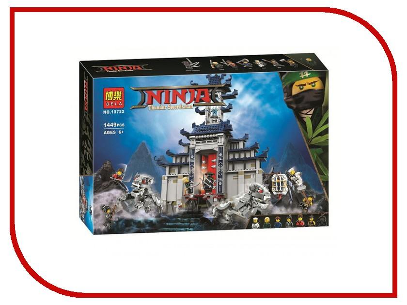 Конструктор Bela Ninja Храм Последнего великого оружия 1449 дет. 10722 755pcs bela 10325 ninja db x nya pythor kai masters of spinjitzu ninja building block toys compatible with lego