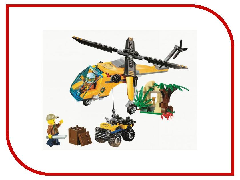 Конструктор Bela Cities Грузовой вертолет исследователей джунглей 216 дет. 10709