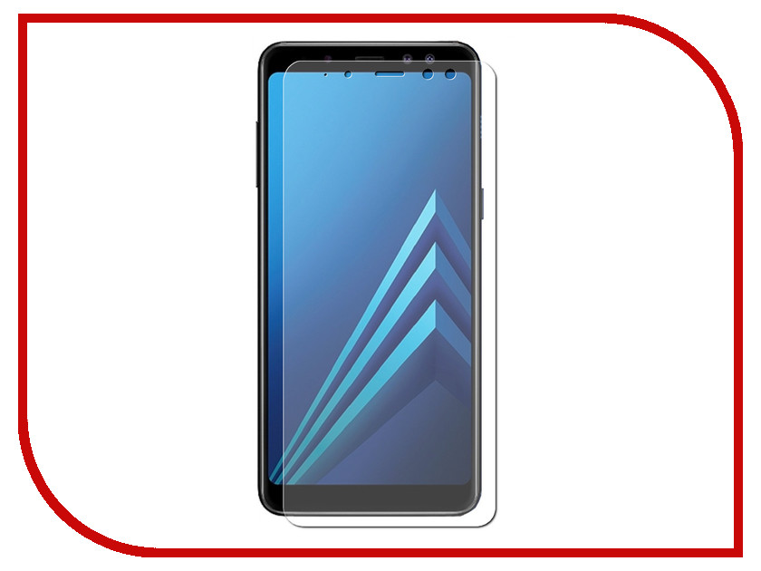 Аксессуар Защитное стекло Samsung Galaxy A5 2018/A8 2018 Ainy Full Screen Cover 3D 0.2mm Transparent AF-S214R цена 2017