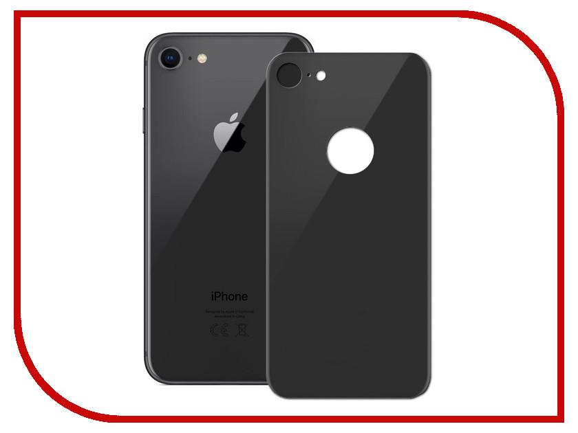Аксессуар Защитное стекло Ainy Full Screen Cover 3D 0.33mm Apple iPhone 8 Заднее Black аксессуар защитное стекло activ 3d gold для apple iphone 7 69556