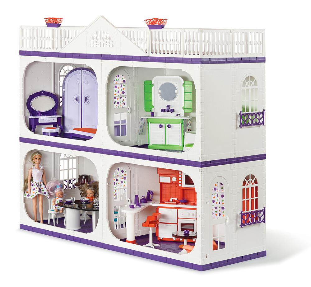 Кукольный домик ОгонекУсадьба Конфетти С-1402