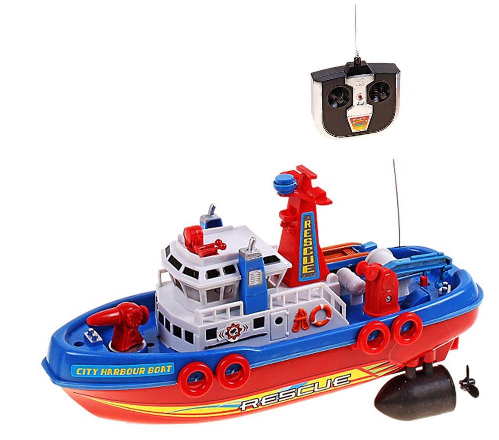 Игрушка СИМА-ЛЕНД Катер Пожарная охрана 552656
