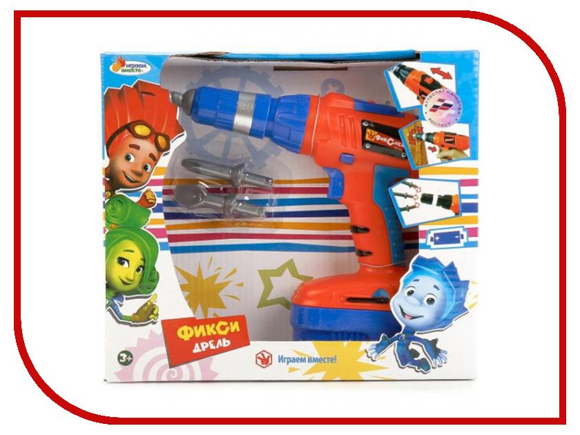 Игра Играем вместе Дрель Фиксики B256051-R играем вместе вертолет фиксики цвет оранжевый синий
