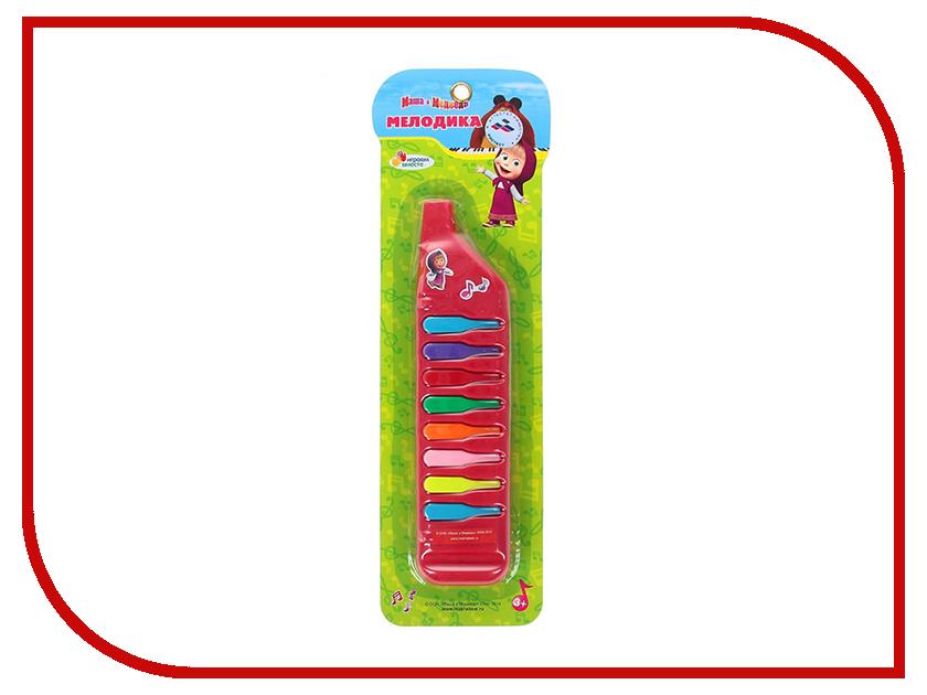 Детский музыкальный инструмент Играем вместе Мелодика Маша и Медведь 189A/189 B48077-R2 коврик пазл играем вместе маша и медведь