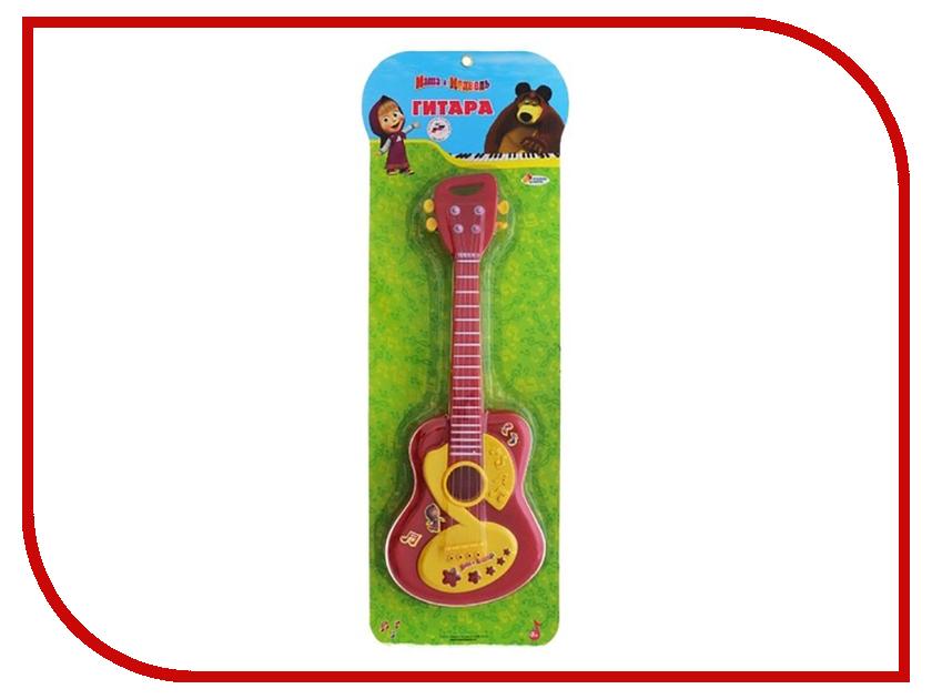 Детский музыкальный инструмент Играем вместе Гитара Маша и Медведь 058A B278735-R2 коврик пазл играем вместе маша и медведь