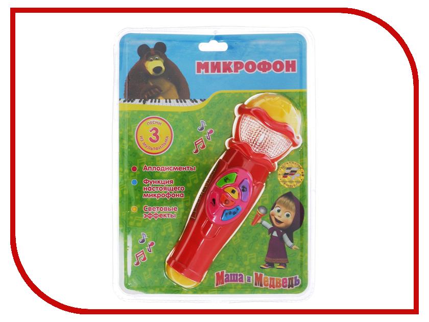Детский музыкальный инструмент Играем вместе Микрофон Маша и Медведь A848-H05031-R2