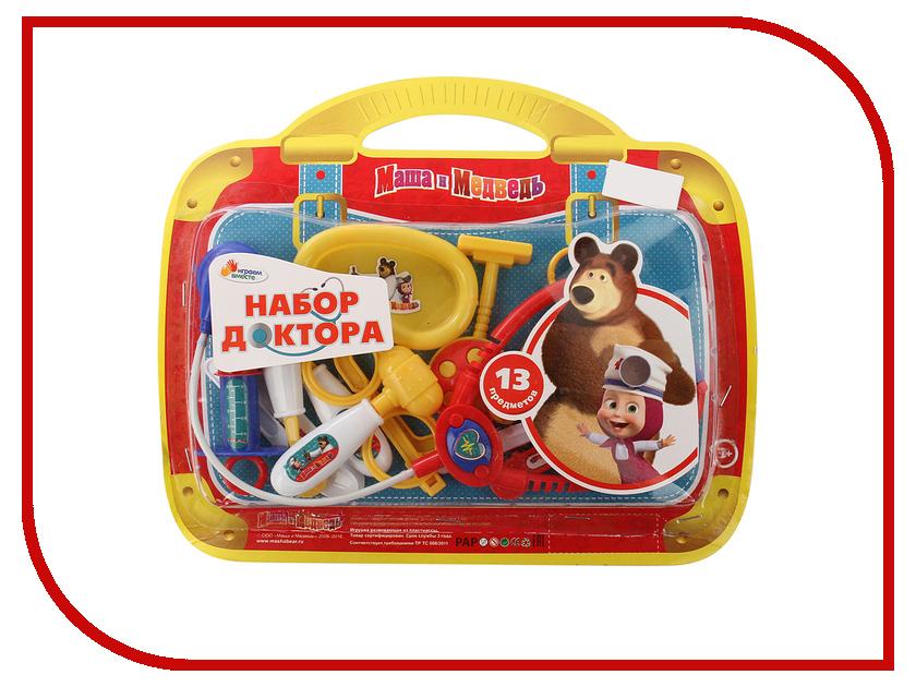 Игра Играем вместе Маша и Медведь Набор доктора B1363593-R ролевые игры играем вместе миксер маша и медведь
