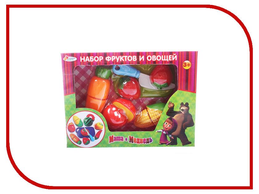 Игра Играем вместе Набор фруктов и овощей Маша и Медведь B847982-R игра играем вместе набор полицейского b404508 r