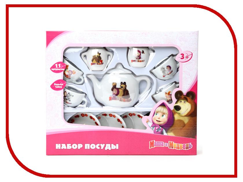 Игра Играем вместе Набор посуды Маша и Медведь CH0034-R a06b 0034 b077
