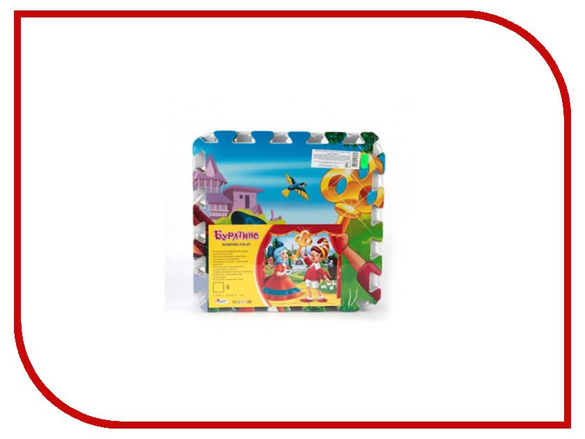 Развивающий коврик Играем вместе Буратино FS-BUR фигурки игрушки играем вместе деревянная игрушка играем вместе буратино кот