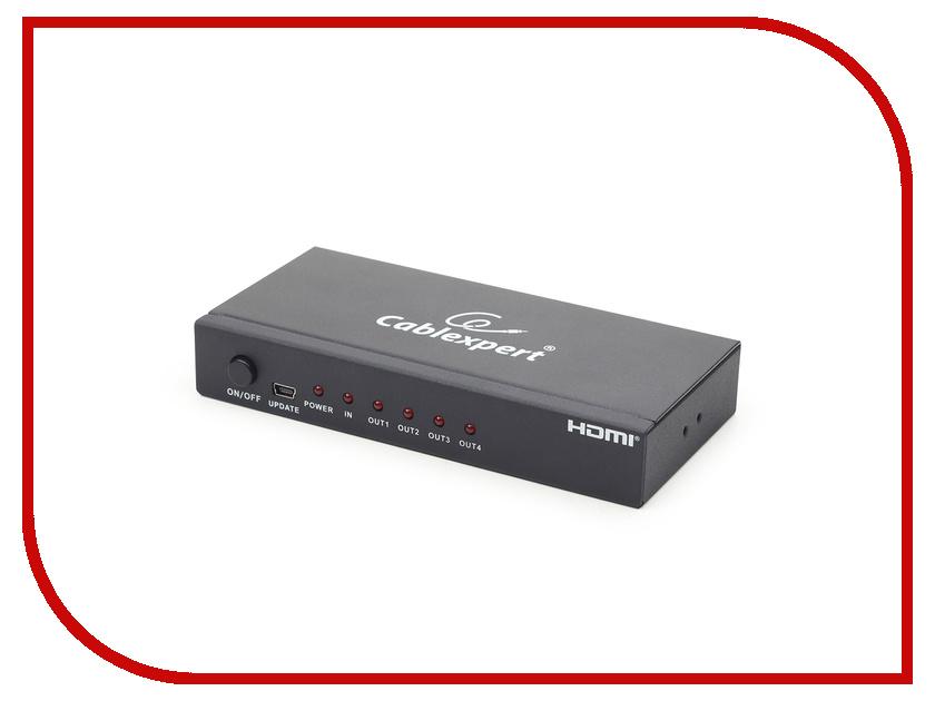 Сплиттер Gembird Cablexpert HDMI HD19F/4x19F DSP-4PH4-02 dsp трава зеленая