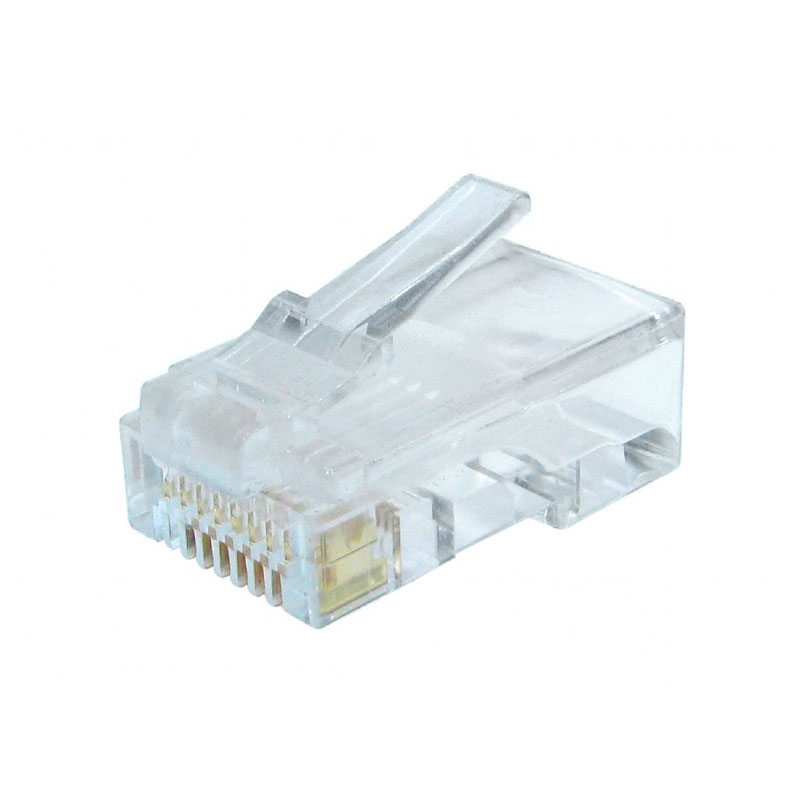 Коннектор Gembird RJ-45 8P8C cat.6 LC-8P8C-002 100шт коннектор безинструментальный 8p8c компьютерный разъем u utp cat 5e rj 45 10 0218