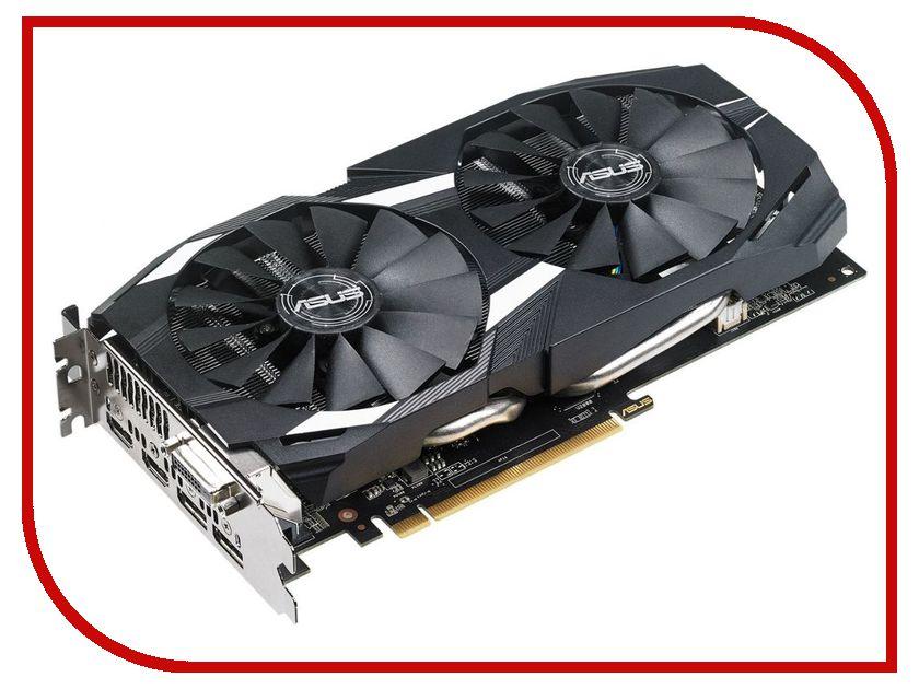 Видеокарта ASUS Radeon RX 580 1360Mhz PCI-E 3.0 8192Mb 8000Mhz 256 bit DVI 2xHDMI HDCP DUAL-RX580-8G видеокарта asus radeon rx 580 amd radeon rx 580 pci e 8192mb gddr5 256 bit retail dual rx580 8g