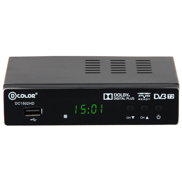 D-Color DVB-T2 DC1502HD